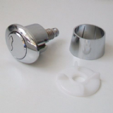 Macdee Toilet Cistern Oval Dual Flush Push Button - 08000857